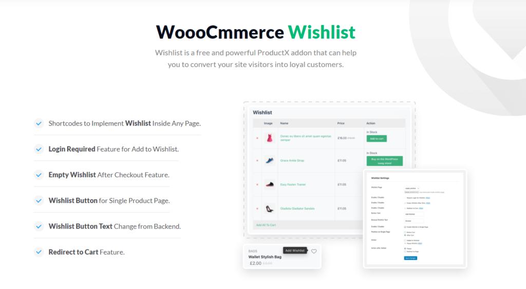 ProductX WooCommerce Wishlist